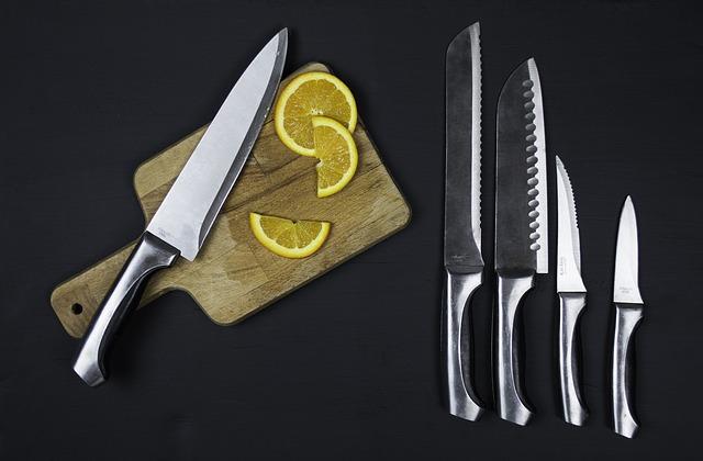 Come scegliere un set di coltelli